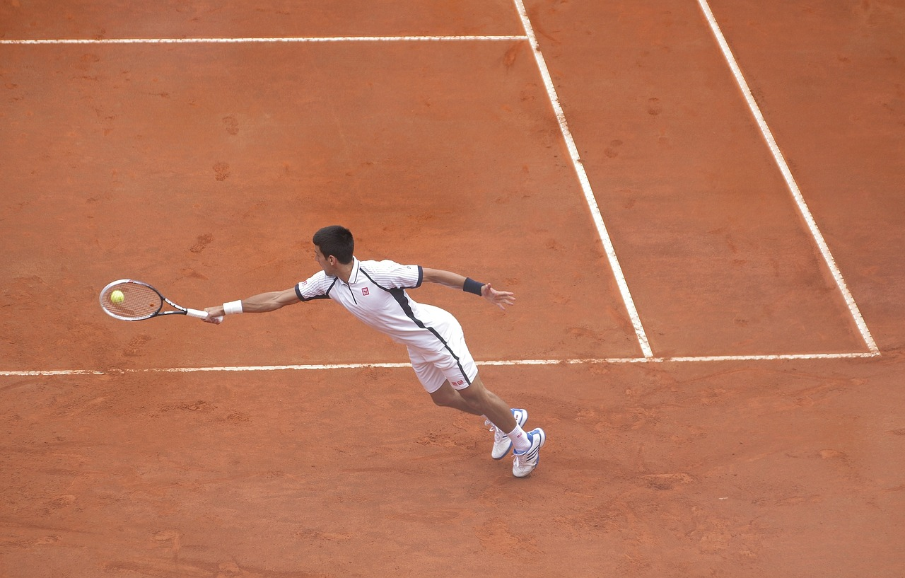 Novak Djokovic à Roland Garros